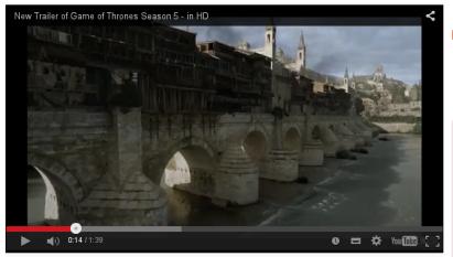 El Puente Romano de Córdoba, en el nuevo tráiler de 'Juego de Tronos'